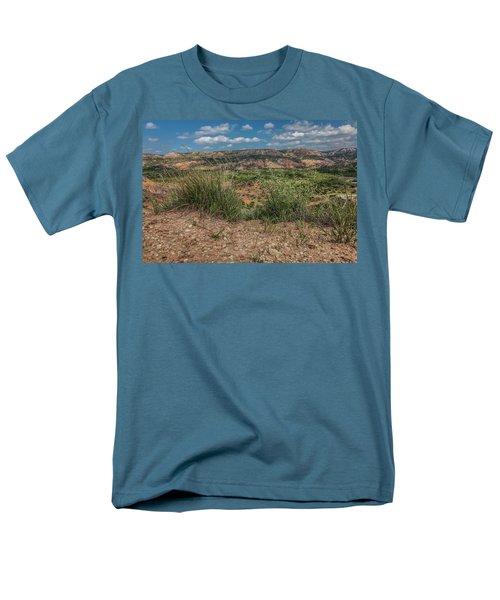 Blue Skies Over Palo Duro Canyon Men's T-Shirt  (Regular Fit)