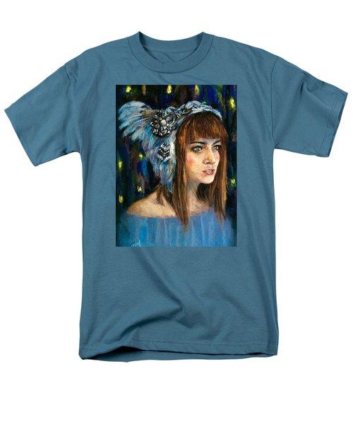 Blue Star Men's T-Shirt  (Regular Fit)