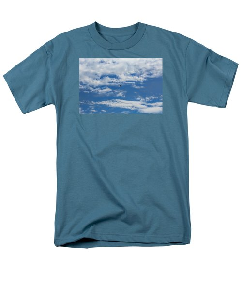 Men's T-Shirt  (Regular Fit) featuring the photograph Blue White by Leif Sohlman