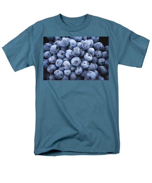 Blueberries Men's T-Shirt  (Regular Fit) by Happy Home Artistry