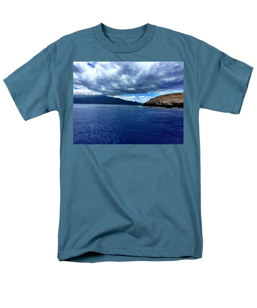 Men's T-Shirt  (Regular Fit) featuring the photograph Boat View 3 by Michael Albright