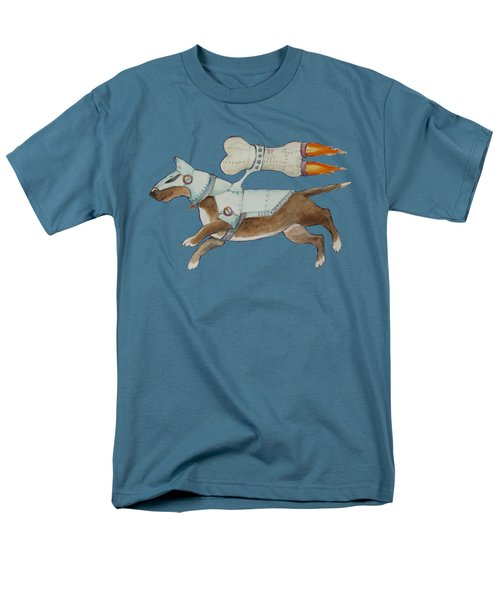 Men's T-Shirt  (Regular Fit) featuring the painting Bone Commander - Apparel  by Jindra Noewi