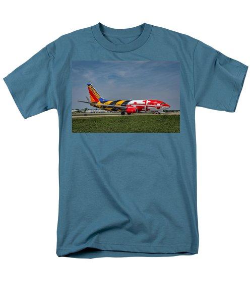 Boeing 737 Maryland Men's T-Shirt  (Regular Fit) by Guy Whiteley