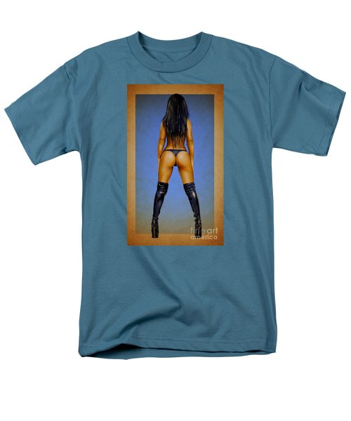 Men's T-Shirt  (Regular Fit) featuring the drawing Booty by Brian Gibbs