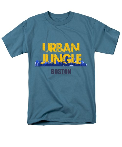 Boston Urban Jungle Shirt Men's T-Shirt  (Regular Fit) by Joe Hamilton