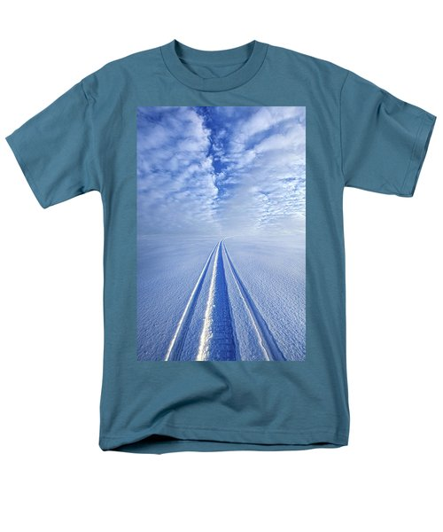 Men's T-Shirt  (Regular Fit) featuring the photograph Boundless Infinitude by Phil Koch