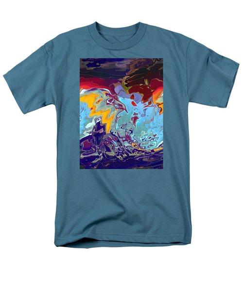 Breaking Waves Men's T-Shirt  (Regular Fit) by Alika Kumar