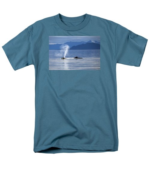 Breath Of A Whale Men's T-Shirt  (Regular Fit) by Michele Cornelius