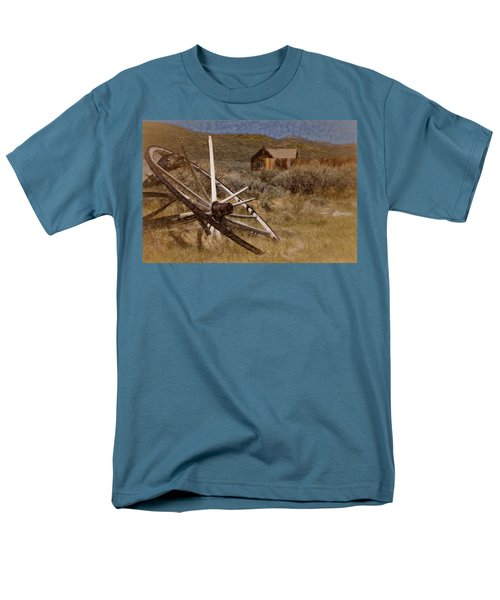 Broken Spokes Men's T-Shirt  (Regular Fit) by Lana Trussell