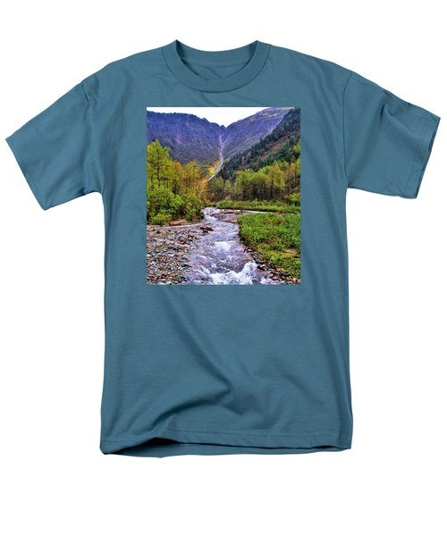 Brook Men's T-Shirt  (Regular Fit) by Martin Cline