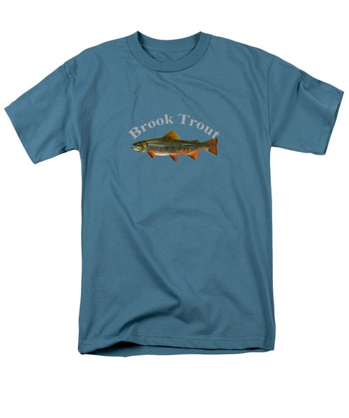 Brook Trout Men's T-Shirt  (Regular Fit) by T Shirts R Us -
