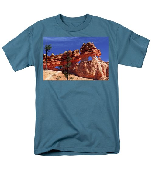 Bryce Canyon National Park Men's T-Shirt  (Regular Fit) by Sally Weigand