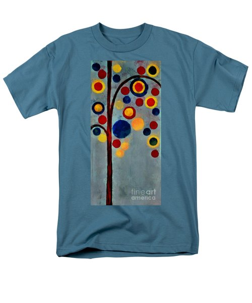 Bubble Tree - Dps02c02f - Right Men's T-Shirt  (Regular Fit) by Variance Collections