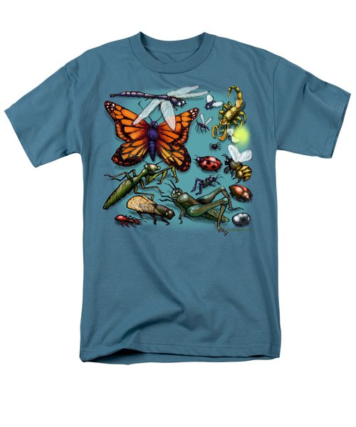 Men's T-Shirt  (Regular Fit) featuring the painting Bugs by Kevin Middleton
