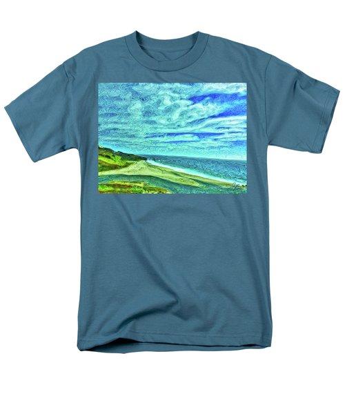 California Coast Men's T-Shirt  (Regular Fit) by Joan Reese