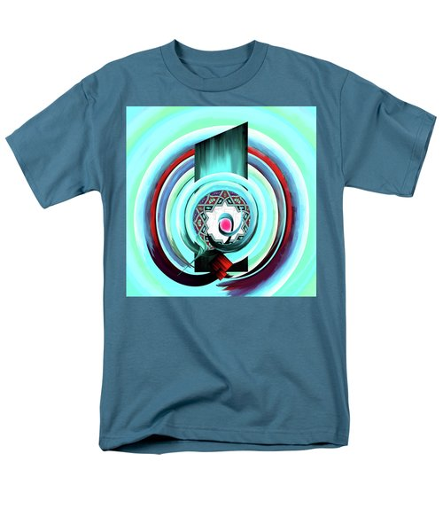 Men's T-Shirt  (Regular Fit) featuring the painting Calligraphy 104 4 by Mawra Tahreem