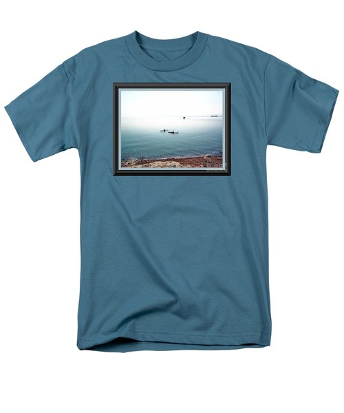 Calm Lake Superior Men's T-Shirt  (Regular Fit) by Shirley Moravec