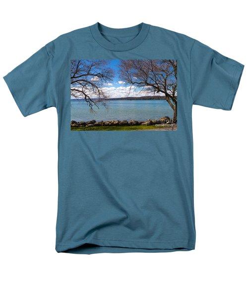 Canandaigua Men's T-Shirt  (Regular Fit) by William Norton