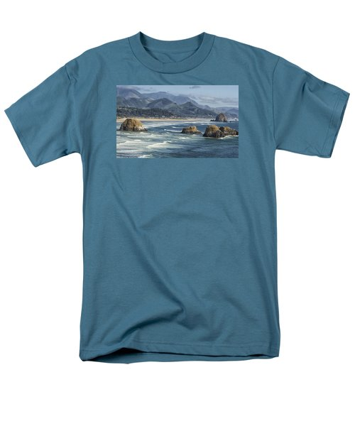 Men's T-Shirt  (Regular Fit) featuring the photograph Cannon Beach 0192 by Tom Kelly