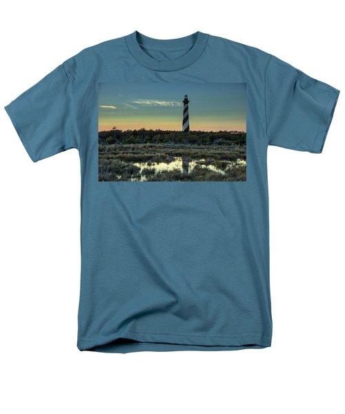 Cape Hatteras Sunset Men's T-Shirt  (Regular Fit)