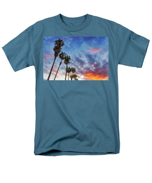 Men's T-Shirt  (Regular Fit) featuring the photograph Casitas Palms by John A Rodriguez