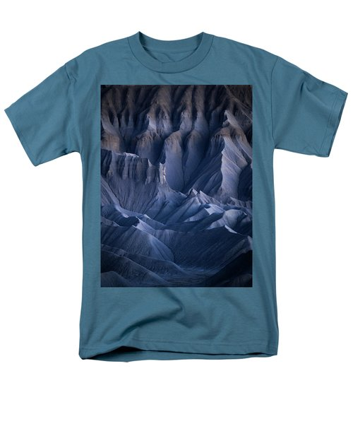 Men's T-Shirt  (Regular Fit) featuring the photograph Castle Blue by Dustin LeFevre