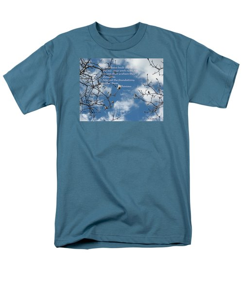 Castles In The Air Men's T-Shirt  (Regular Fit) by Deborah Dendler