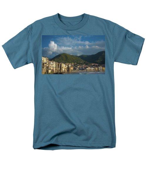 Cefalu  Men's T-Shirt  (Regular Fit) by Patrick Boening