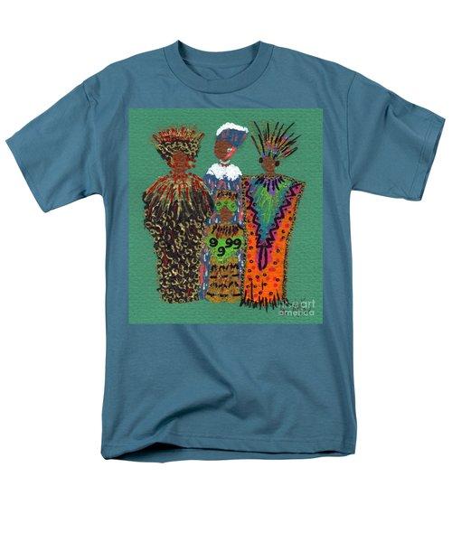 Men's T-Shirt  (Regular Fit) featuring the mixed media Celebration II by Angela L Walker