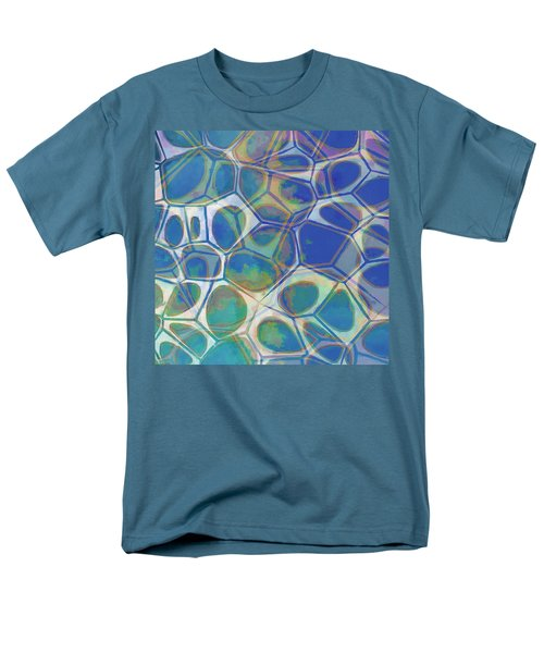 Cell Abstract 13 Men's T-Shirt  (Regular Fit) by Edward Fielding