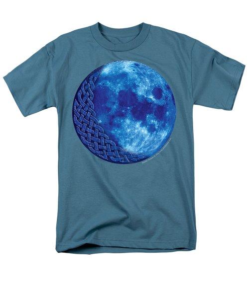 Celtic Blue Moon Men's T-Shirt  (Regular Fit) by Kristen Fox