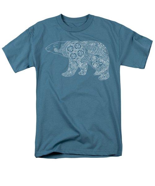 Celtic Polar Bear Men's T-Shirt  (Regular Fit) by Kristen Fox