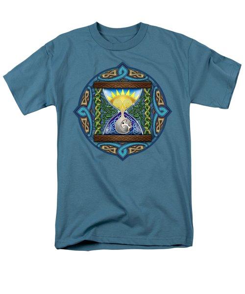 Celtic Sun Moon Hourglass Men's T-Shirt  (Regular Fit) by Kristen Fox