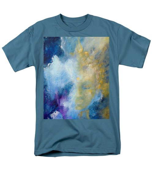 Men's T-Shirt  (Regular Fit) featuring the painting Chakra by Dina Dargo