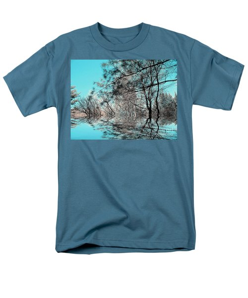 Men's T-Shirt  (Regular Fit) featuring the photograph Chaos  by Elfriede Fulda