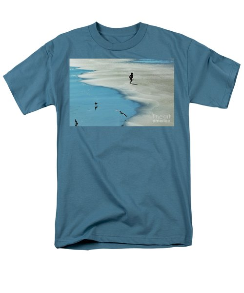 Chasing Shadows  Men's T-Shirt  (Regular Fit) by Christy Ricafrente