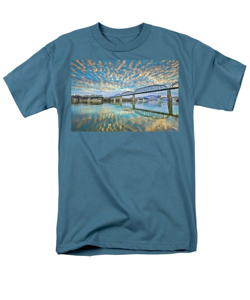 Chattanooga Has Crazy Clouds Men's T-Shirt  (Regular Fit) by Steven Llorca