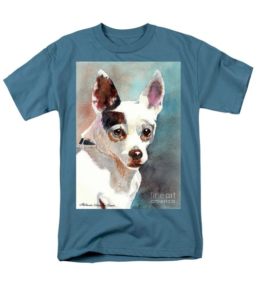 Chihuahua  Men's T-Shirt  (Regular Fit) by LeAnne Sowa