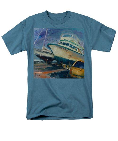 China Basin Men's T-Shirt  (Regular Fit) by Rick Nederlof