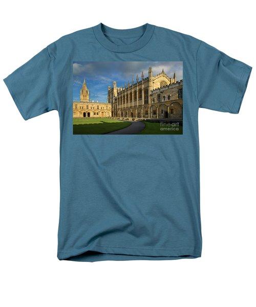 Men's T-Shirt  (Regular Fit) featuring the photograph Christ Church College II by Brian Jannsen