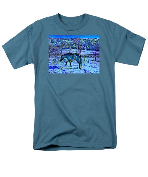 Christmas Roan El Valle IIi Men's T-Shirt  (Regular Fit) by Anastasia Savage Ealy