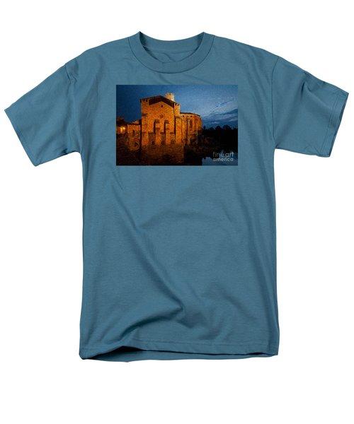 Men's T-Shirt  (Regular Fit) featuring the photograph Church 1 by Jean Bernard Roussilhe