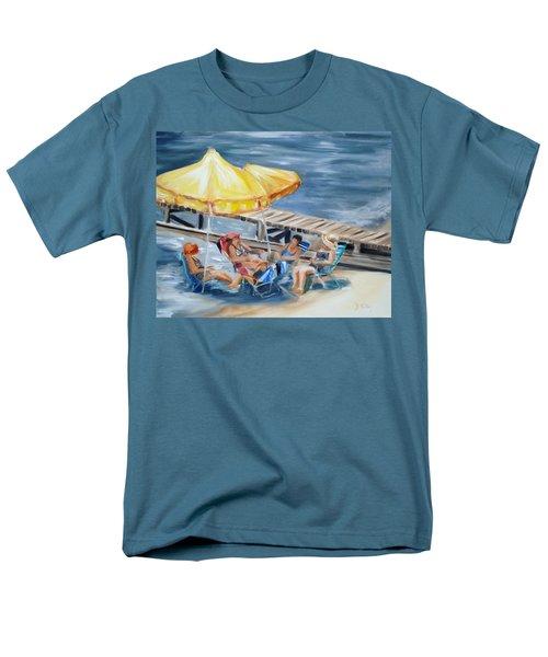 Circle Of Friends Men's T-Shirt  (Regular Fit)