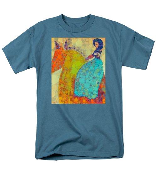 Circus Pony 2 Men's T-Shirt  (Regular Fit) by M  Stuart