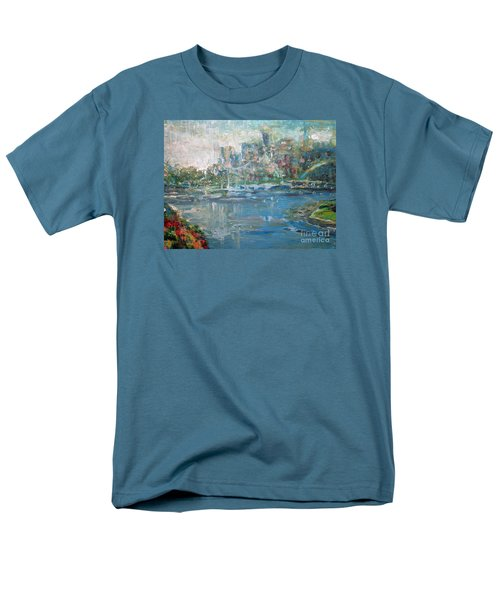 City On The Bay Men's T-Shirt  (Regular Fit) by John Fish