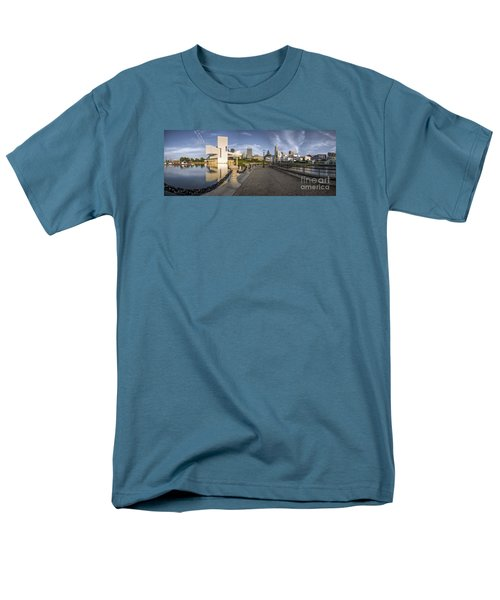 Cleveland Panorama Men's T-Shirt  (Regular Fit) by James Dean