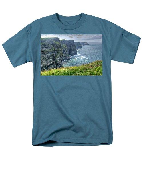 Men's T-Shirt  (Regular Fit) featuring the photograph Cliffs Of Moher by Alan Toepfer