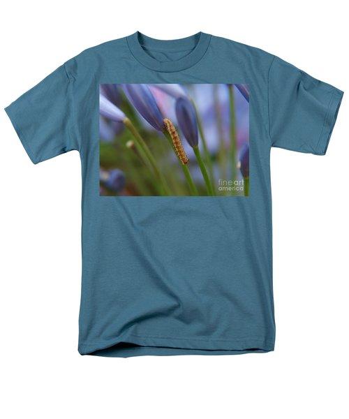 Climbing Caterpillar Men's T-Shirt  (Regular Fit) by Trena Mara