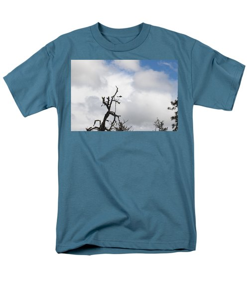 Men's T-Shirt  (Regular Fit) featuring the photograph Close Call by Marie Neder