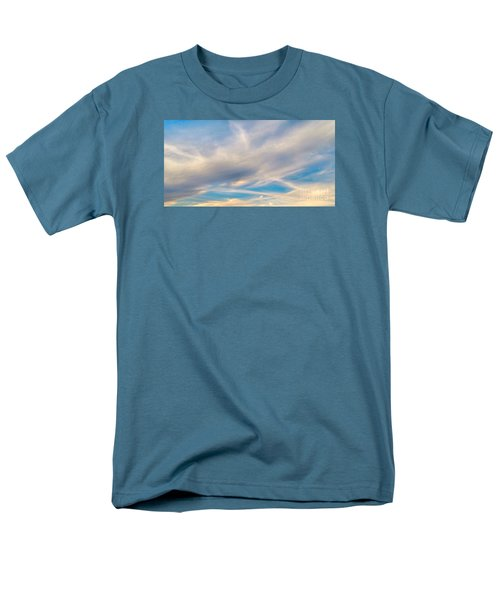 Cloud Wisps Men's T-Shirt  (Regular Fit) by Audrey Van Tassell